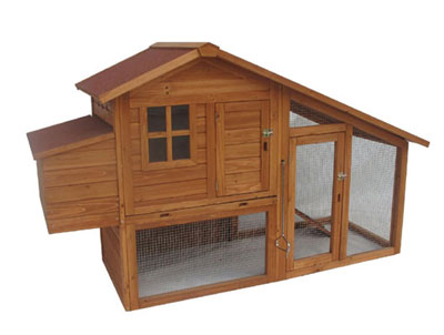 Wooden chicken coops